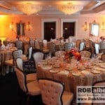 Wedding reception - www.robalberti.comOld Saybrook Inn Danielle John - ballroom uplighting
