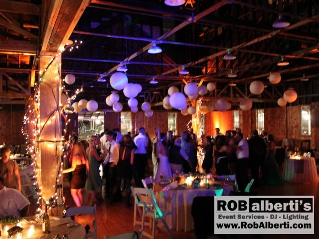 Barn Wedding Lighting Ideas Rob Alberti 39s Event Services in