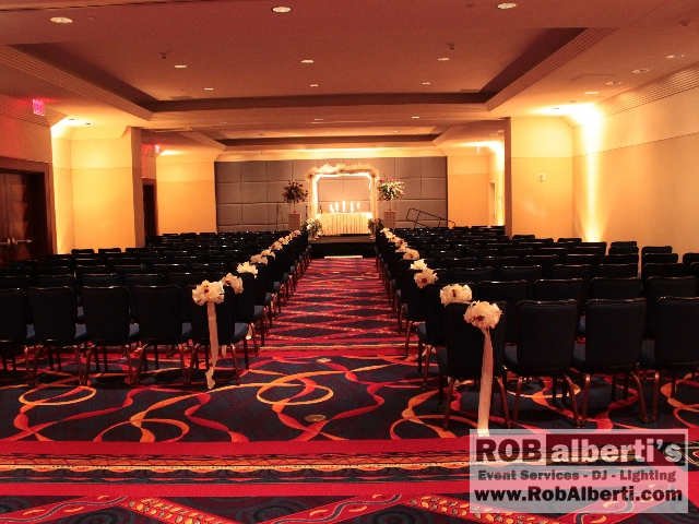Wedding Ceremony Lighting Ideas Rob Alberti S After Hours Dj And Entertainment Event Services 413 562 2632