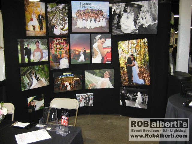 Booth Designs At The Jenks Production West Springfield Bridal Expo