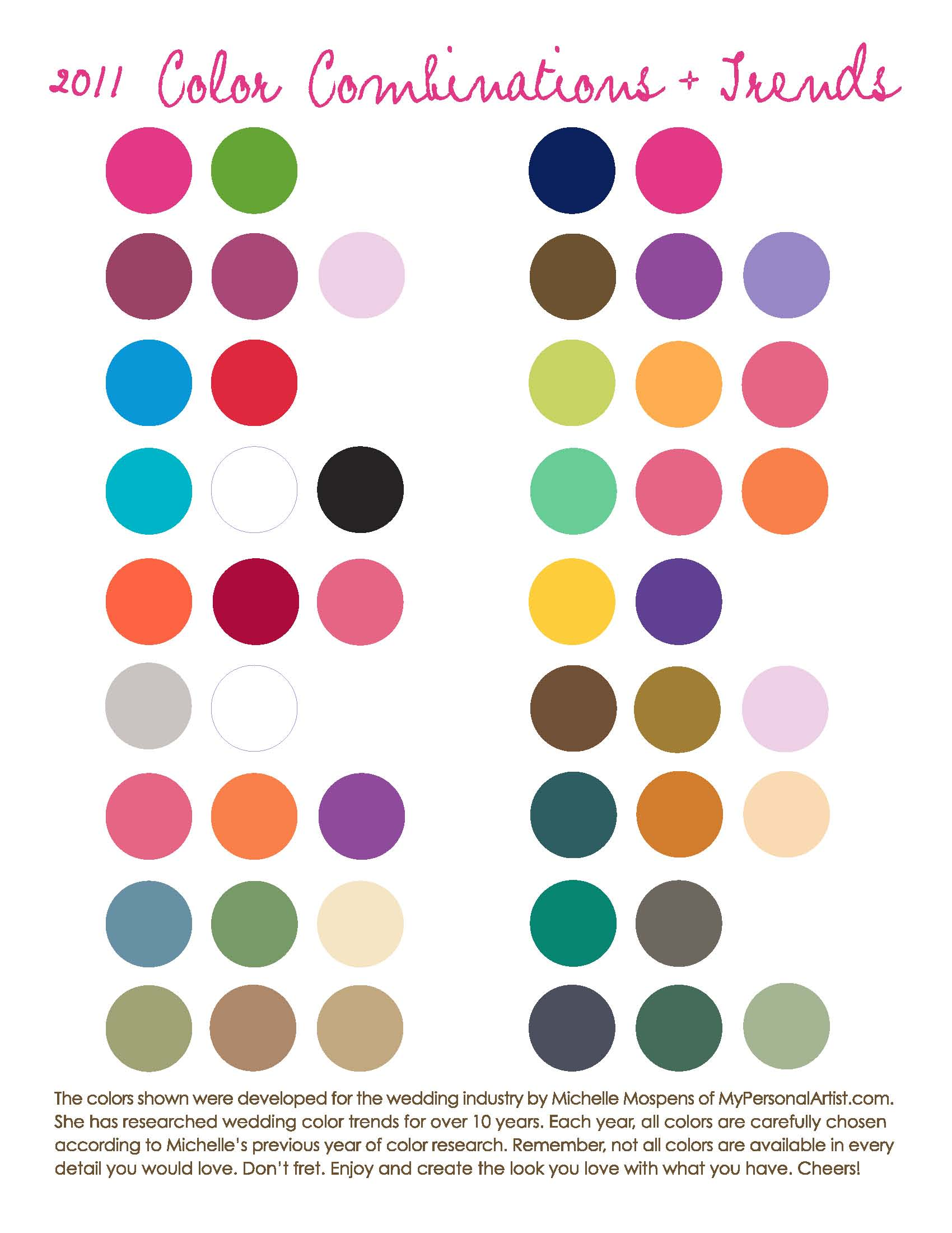 Delightful Wedding Color Trends For 2011 Amazing Ideas