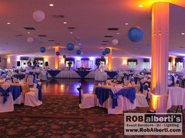 Leicester Country Club Leicester Ma Wedding Up Lighting Rob