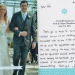 Testimonial - Sarah Adam CT Wedding Receptions