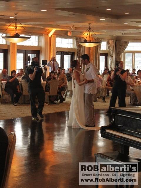 Cali Tonys Wedding Reception At The Atlantic Beach Club In