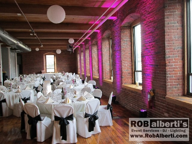 Mill 1 Open Square Wedding Reception In Holyoke MA