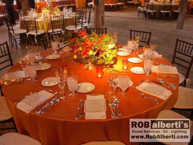 Stonover Farm Lenox Ma Wedding Lighting Rob Alberti Dj