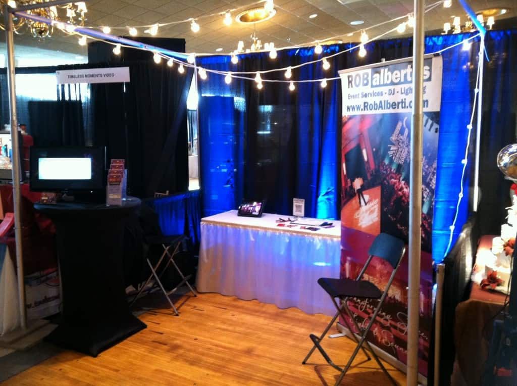 Our Bridal Show Booth At Aqua Turf This Past Weekend Rob