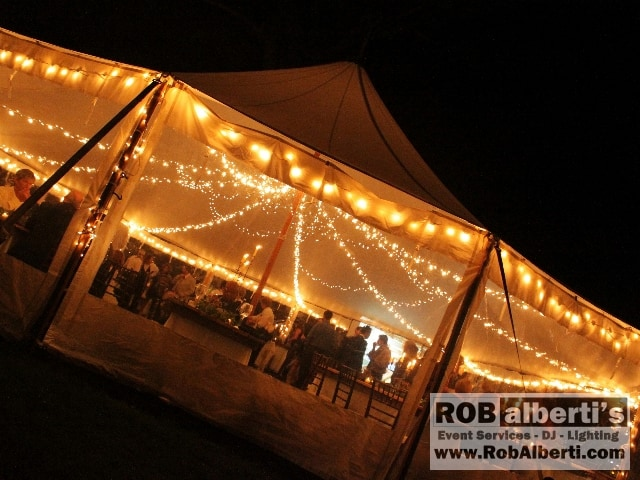rob alberti s event services supplies tent lighting for weddings in
