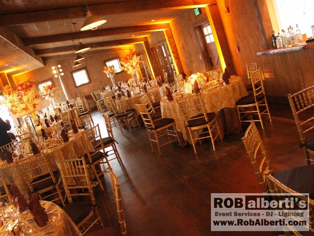 Rob Albertis Event Services Supplies Lighting For Barn Weddings In