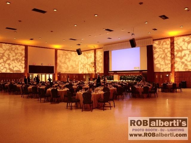 Umass Amherst Event Lighting 150th Year Gala Cape