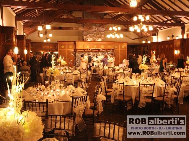 Abby Amp Matt S Wedding Reception At The Garden House Look
