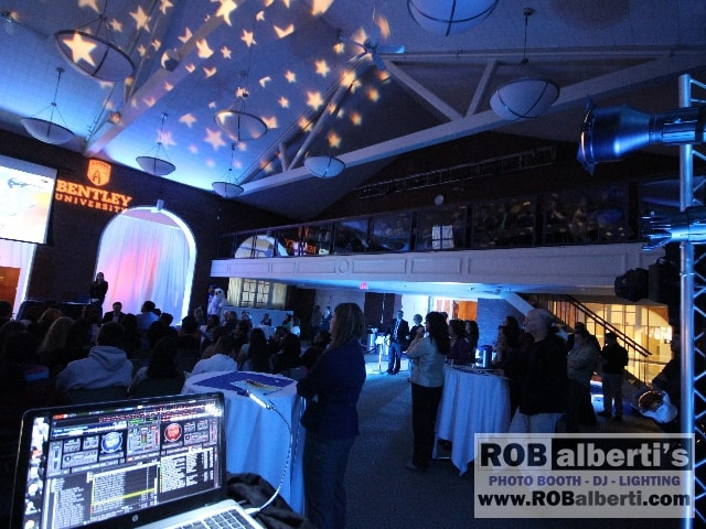 Bentley University Waltham Event Production Company Boston  DJ Lighting -  www.robalberti.com0 IMG_4886