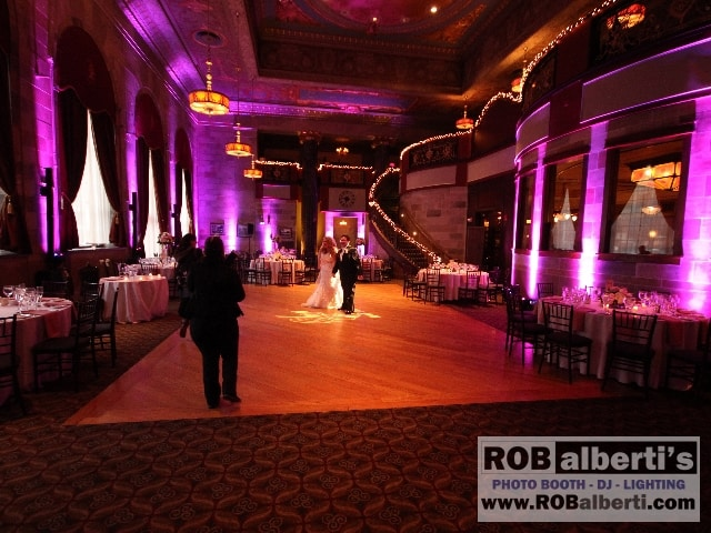 The Society Room Hartford CT Wedding DJ Lighting -  www.robalberti.com0 IMG_5018