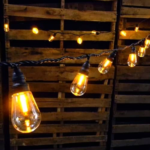 edison bulb string lights wedding lighting edison