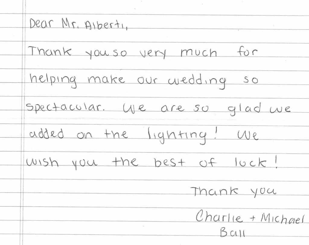 Charlie Michael Testimonial - Newport RI Wedding DJ