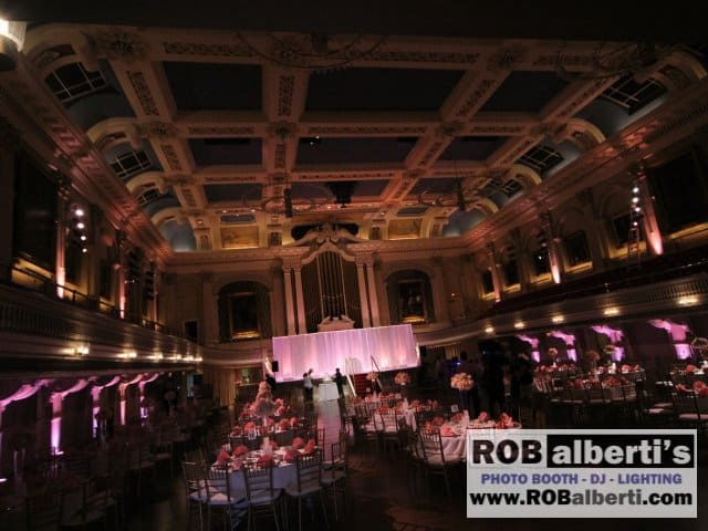 Mechanics Hall Worcester MA Wedding Lighting -0 IMG_6253- www.robalberti.com