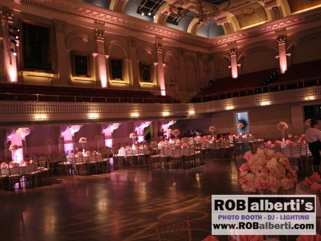 Mechanics Hall Worcester MA Wedding Lighting -0 IMG_6278- www.robalberti.com