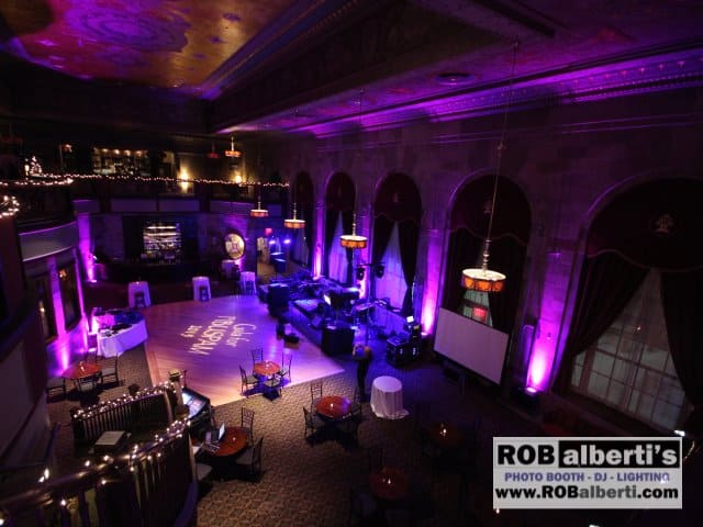 CT Charity Fundraiser Event Lighting