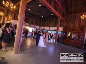Lion Rock Farm Sharon Ct Wedding Reception Megan