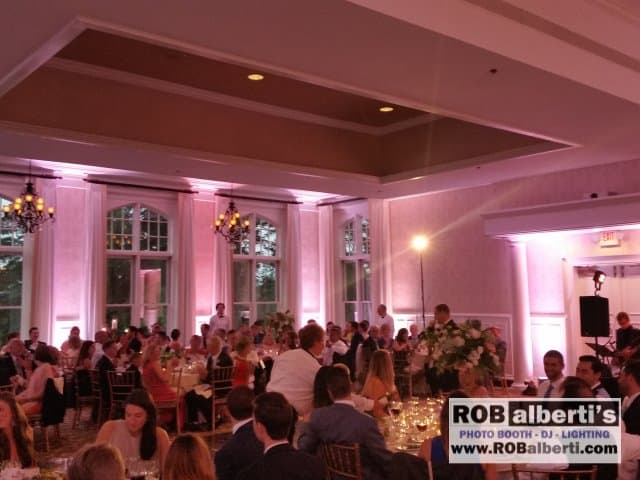 The Cranwell Resort Lenox Ma Wedding Lighting