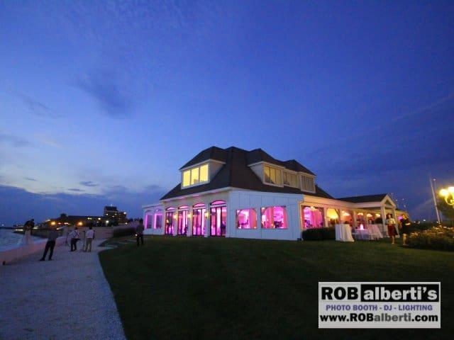 Belle Mer Newport RI Wedding Lighting -0 IMG_9251