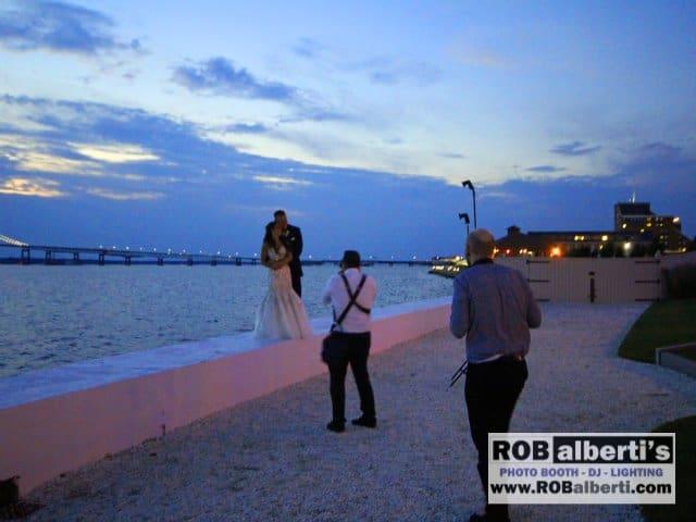 Belle Mer Newport RI Wedding Lighting -0 IMG_9254