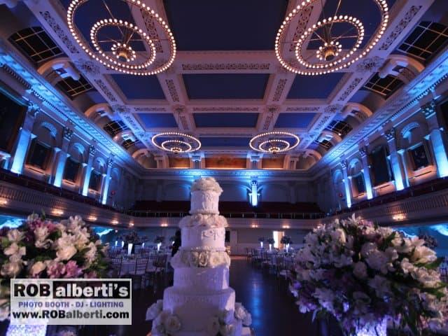 Mechanics Hall Worcester MA Wedding Lighting -0 IMG_9067