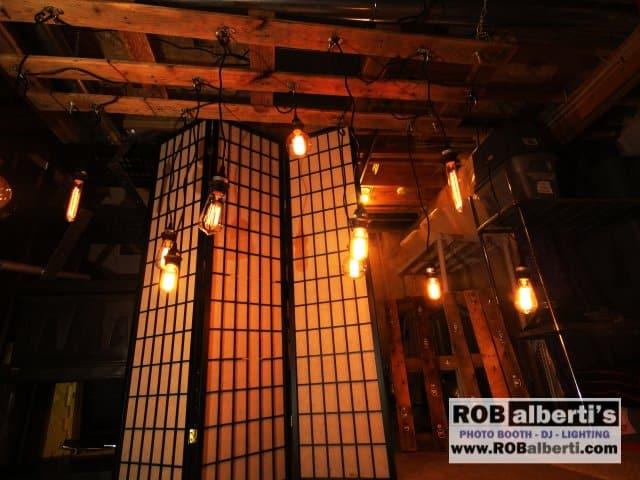 relcaimed wood edison bulb chandelier barn wedding lighting 0 img_8959 barn wedding lighting