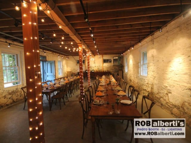 Rob Albertis Event Services 413 562 2632 A Barn Wedding Reception In The Berkshires Of
