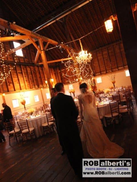 Gedney Farm Barn Wedding Lighting New Marlborough Ma