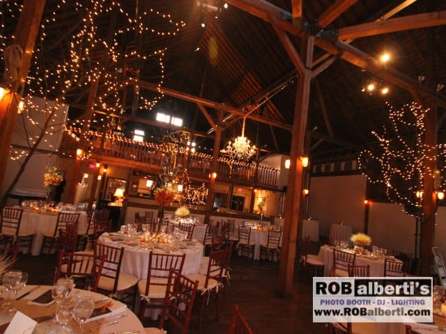 Gedney Farm Barn Wedding Lighting New Marlborough Ma
