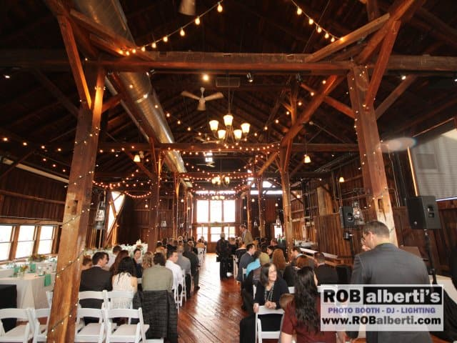 The Red Barn Amherst MA Wedding DJ 1 IMG 0995 - barn weddings in massachusetts