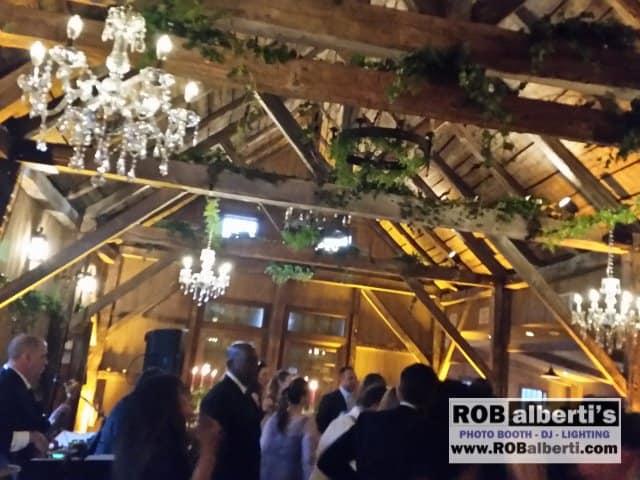 The Winvian - Morris CT - Barn Wedding Lighting - Chrystal ...