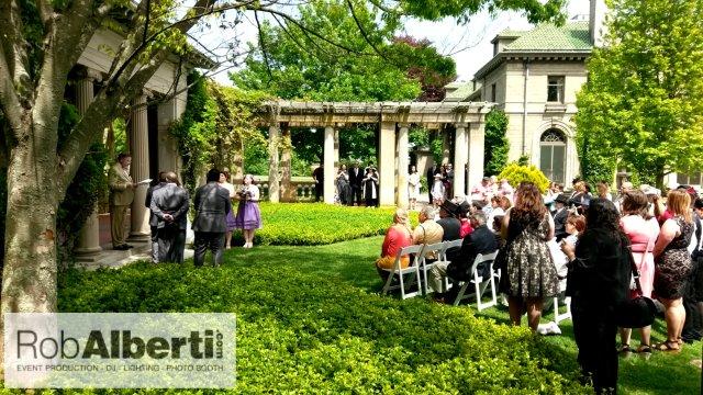 Kristen Amp Alan S Wedding Reception Eolia Mansion