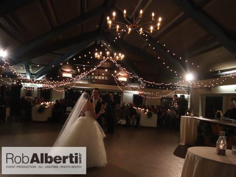 Alexandra Jake Latitude 41 Mystic Ct Wedding Dj String