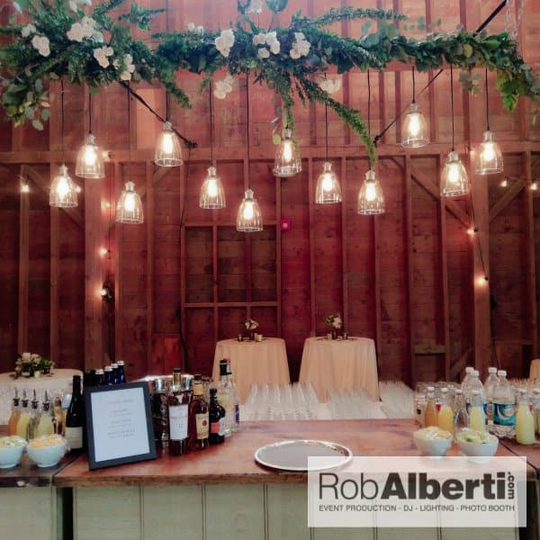 A Barn Wedding Reception In The Berkshires Of