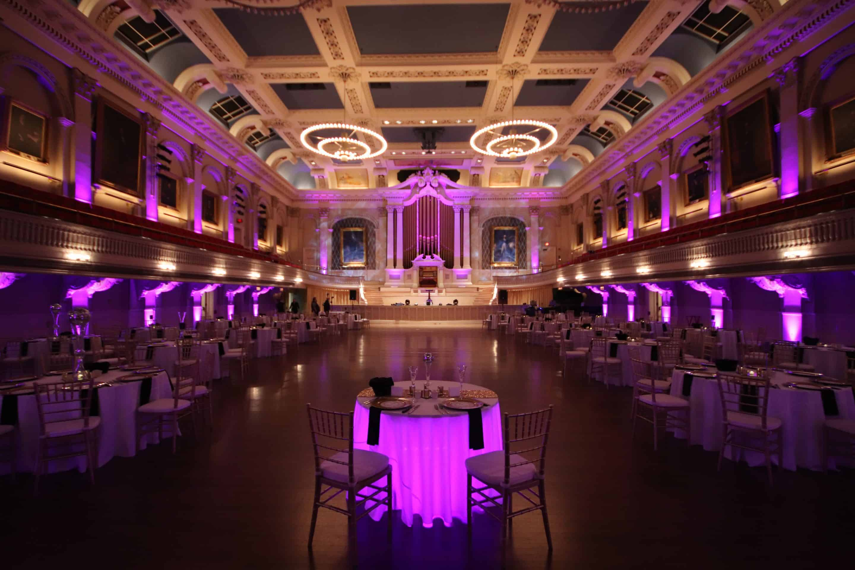 What Will Lighting Do For My Wedding